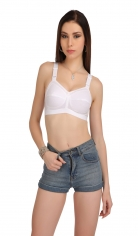 Full coverage broad strap cotton bra Style By Prestitia