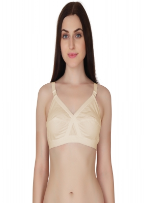 Full coverage cotton bra