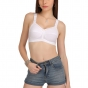 Full coverage broad strap cotton bra