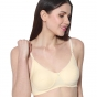 Prestitia skin hosiery bra with transparent strap