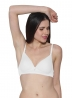 Prestitia White Lightly Padded Bra Style By Prestitia